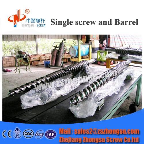 PVC Recycling Single/Twin Screw Barrel for Moulding
