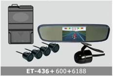 Video Parking System TFT LCD ET-436+600+6188
