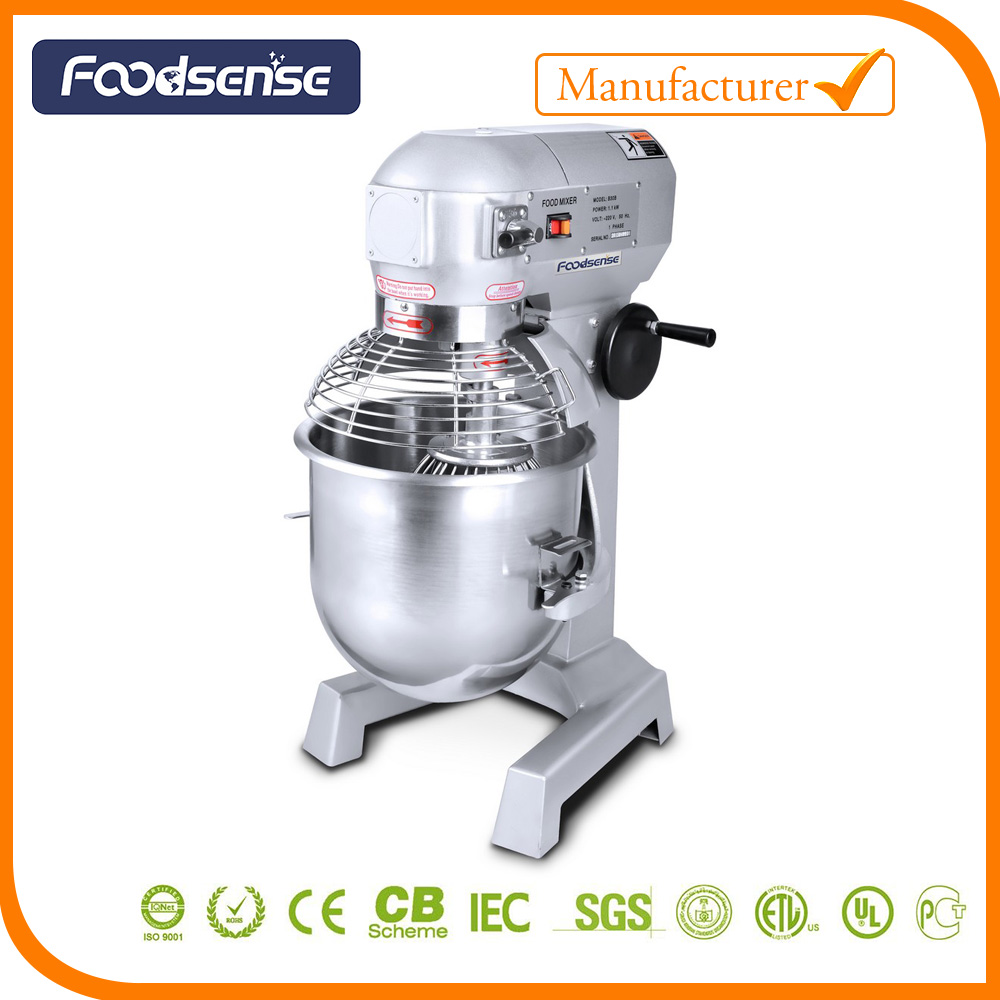 Commercial Food Mixer 20L Stand Dough Planetary Mixer Cake Bakery Equipment