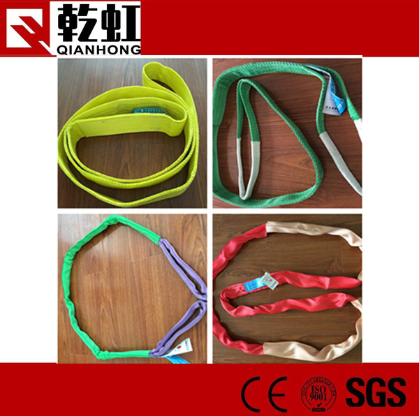 Best price polyester lifting webbing sling round sling