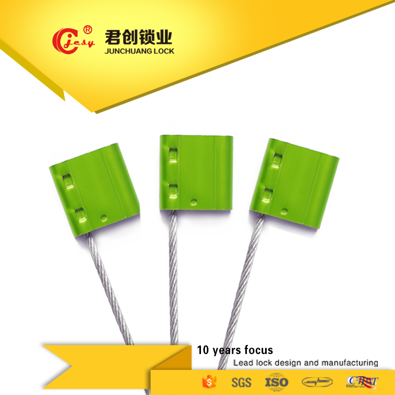 Tamper proof security tags cheap price cable seals steel wire seals