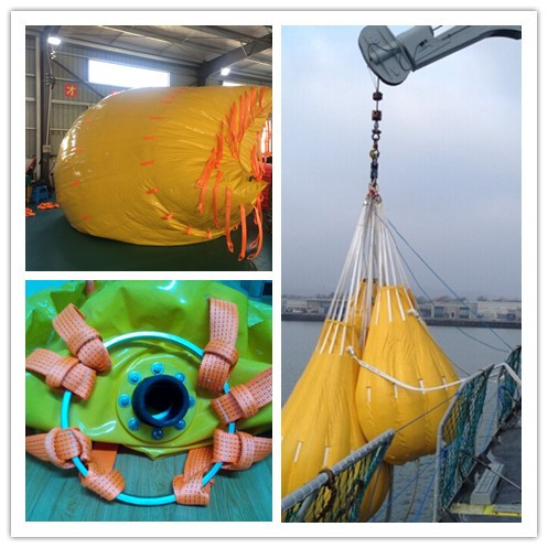 Crane Load Testing Water Bag for totally enclosed life boat Hot sales