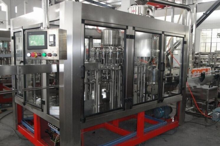 automatic bottle juice filling line/juice bottling machine