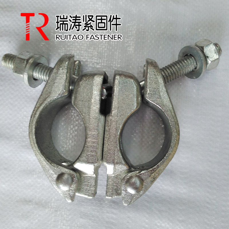 British Galvanized Scaffolding Drop Forged Swivel Coupler BS1139/EN74