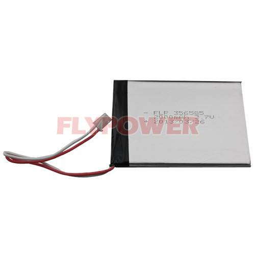 Li-ion Polymer Battery 3.7V 2000mAh Rechargeable Battery Pack
