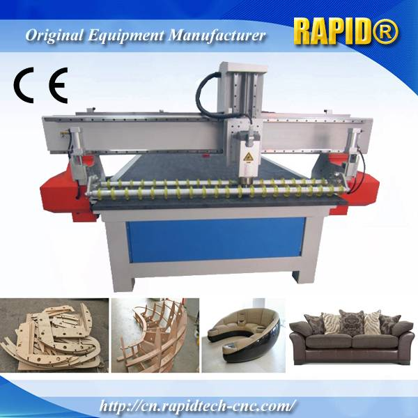 China Rd1325 Automatic Wood Sofa Structure Cutting CNC Router Machine