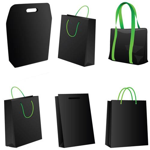 High Quality Luxury paper hangbag