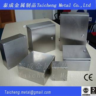 Stainless steel enclosures customized