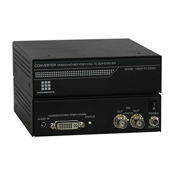VGA to SDI Converter,supports VGA/YPBPR/CVBS+LR input SDI output,1,9201,200P@60Hz