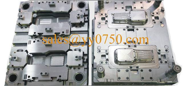 Remote control cover plastic tooling
