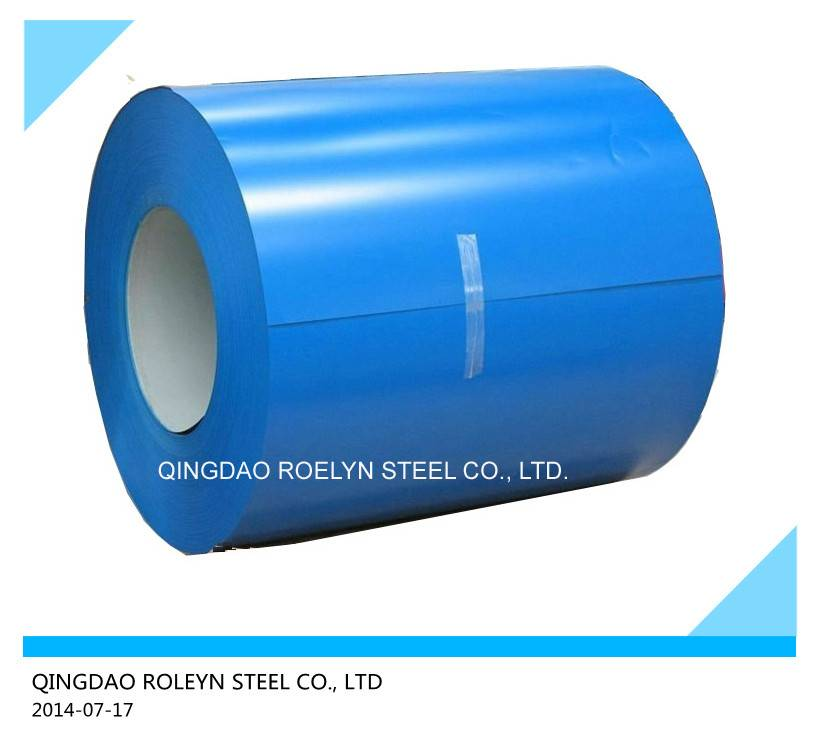 Colorful galvanized prepainted steel coils