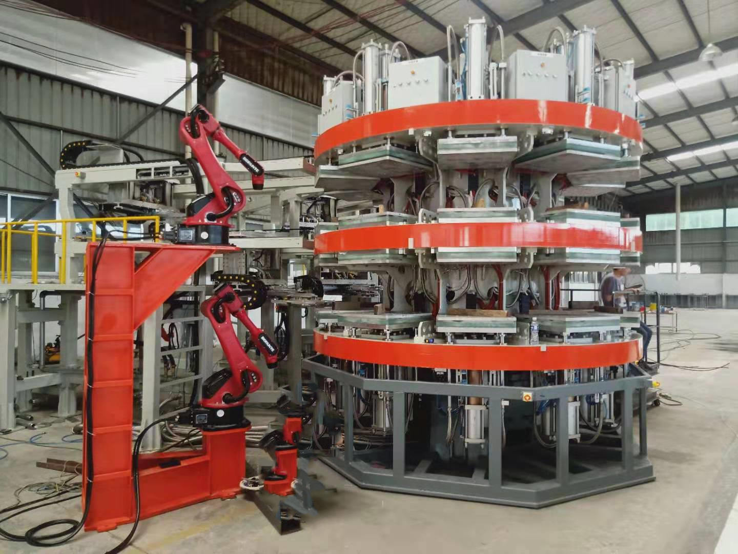 Low Cost High Efficiency Automatic Manufacturing Equipment Pulp Molding Production Line
