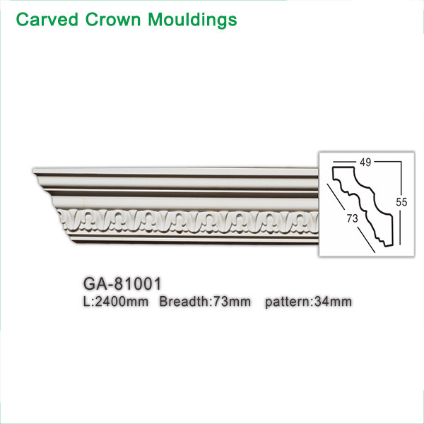 Polyurethane (PU) Crown Moulding
