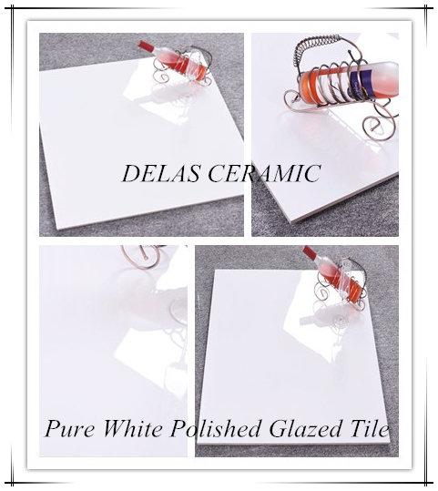 1000x1000 Shopping Mall Pure White Nano Porcellanato Polished Glazed Porcelain Vitrified Floor Tile