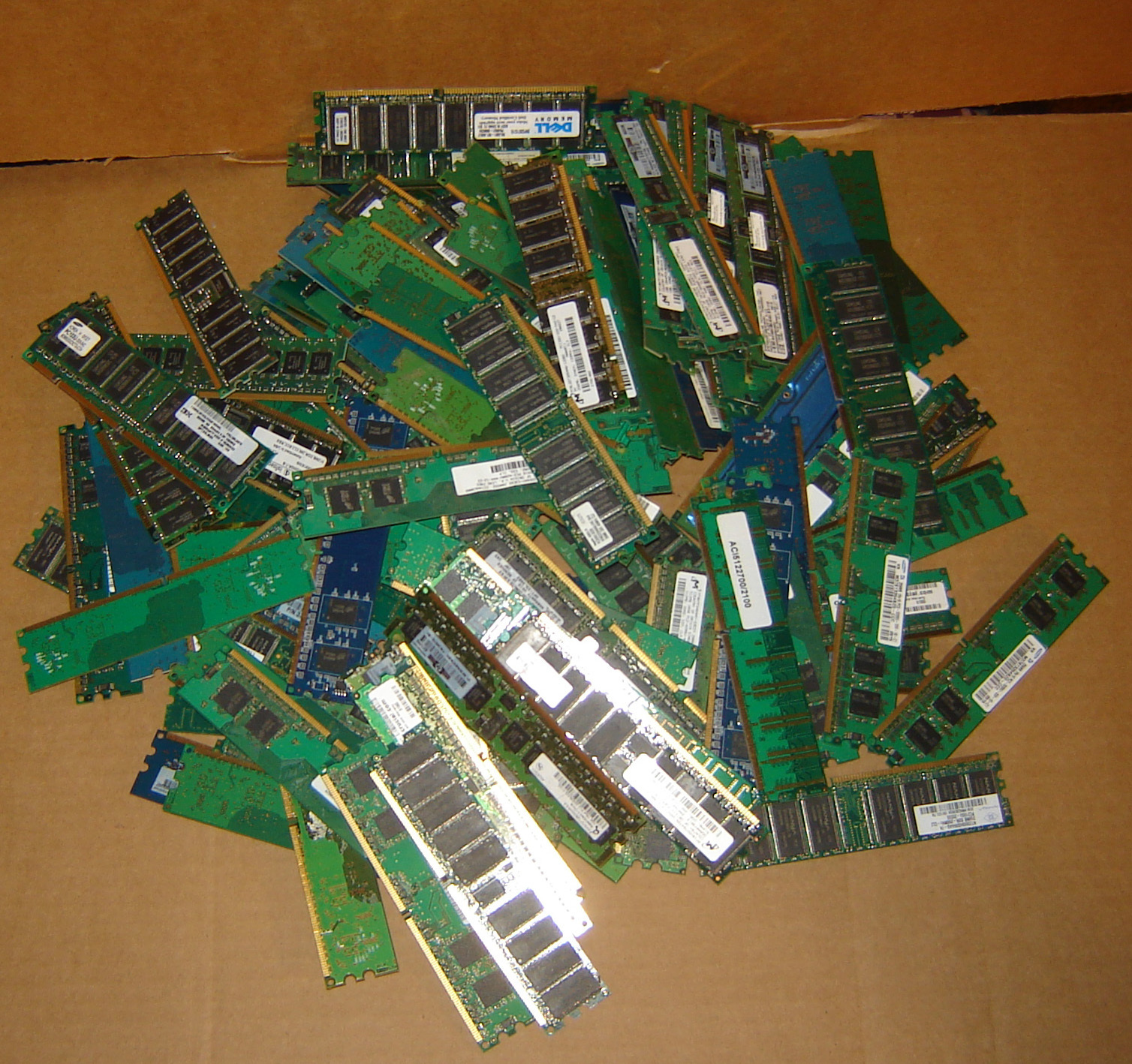 Used RAM's Sticks