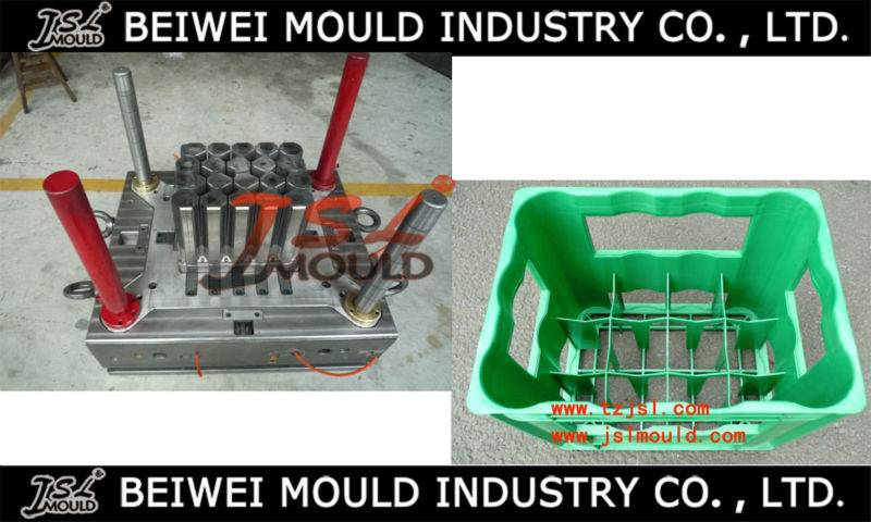 OEM Custom injection plastic beer crate mould
