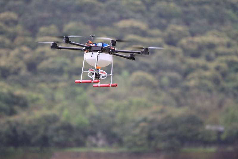 New UAV Drone Crop Sprayer,Agricultural Unmanned Multi-rotor Sprayers, Crop Sprying UAV Drone