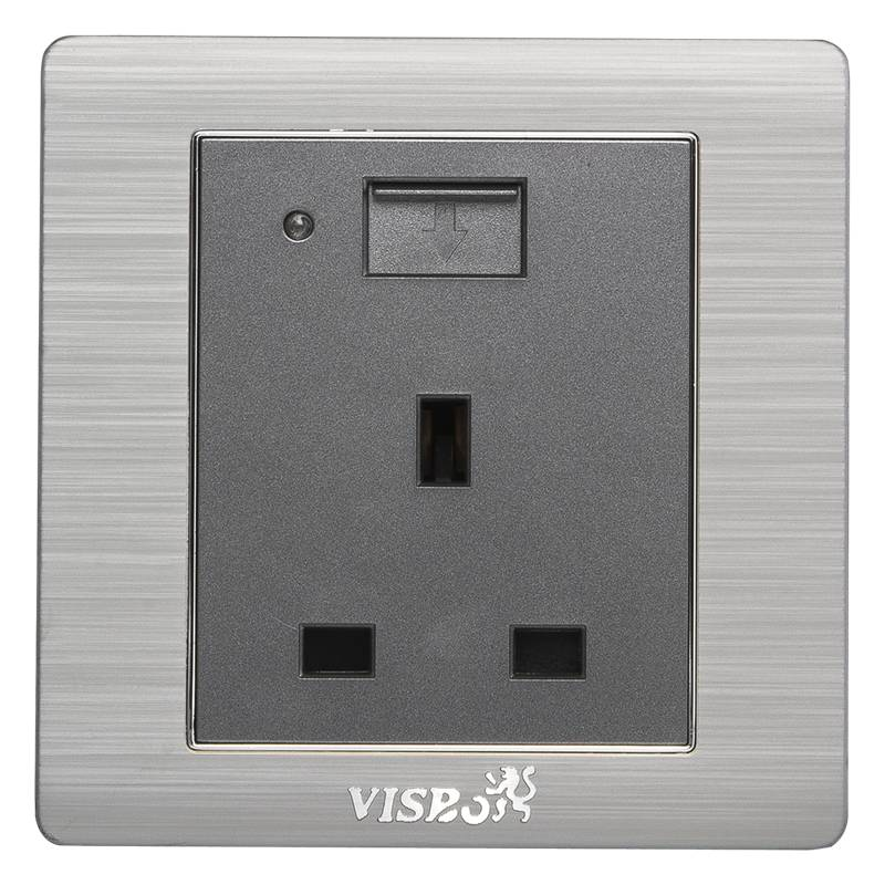 13A BS socket with USB