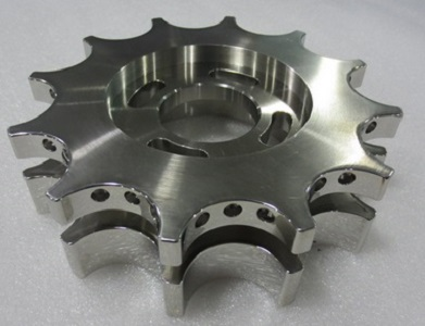 CNC milled Stainless Steel parts