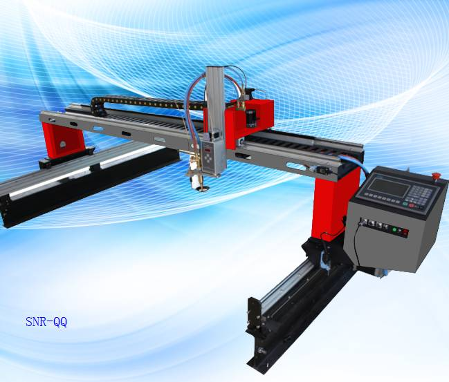 SNR-QQ cheap gantry cnc cutting machine for metal sheet