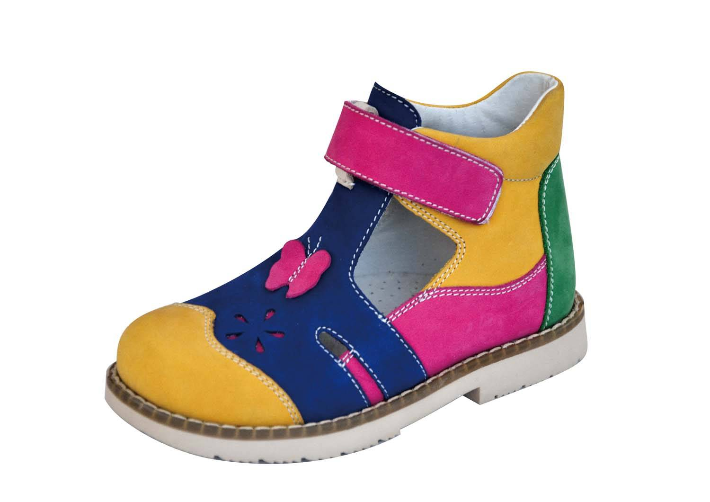 Kids Orthopedic Anti-varus Thomas Heel Nubuck Footwear 4613580-2