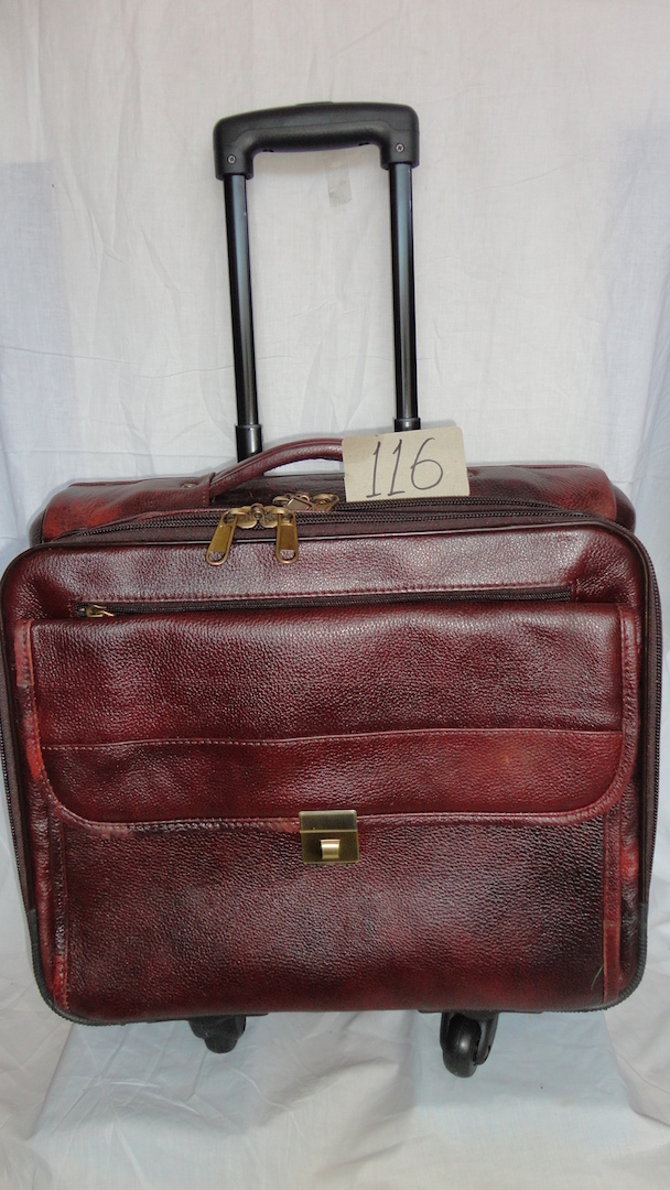 leather Small trolley bags