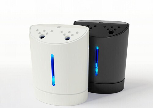 Portable negative ions mini air purifier