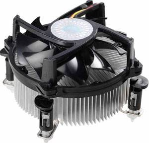 High speed cooling aluminum cpu cooler heat sink