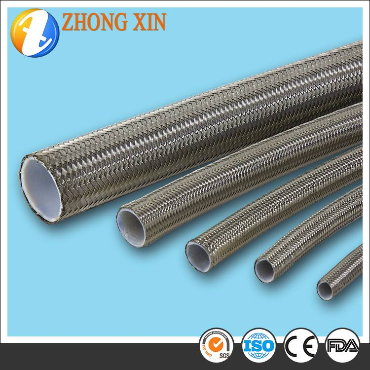 Teflon Braided Pipe with SS304