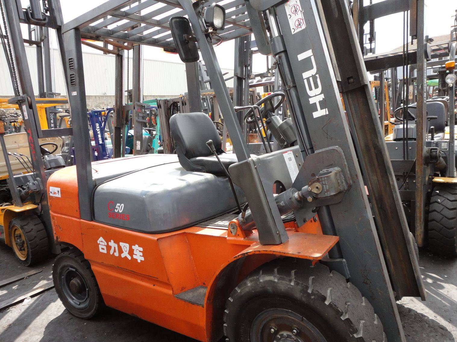 Used  Heli 5t used Forklift