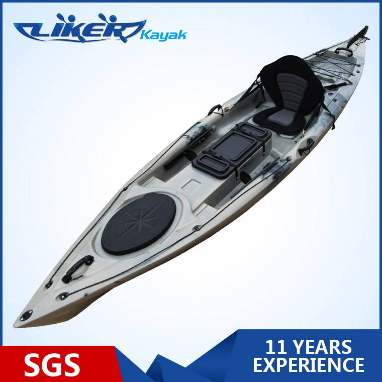 New Design Single Sit On Top Fishing Kayak with pedals