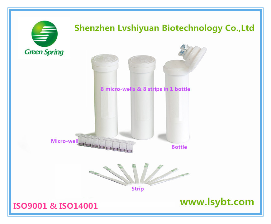 LSY-20004 Chloramphenicol(CAP) rapid test strips (milk)