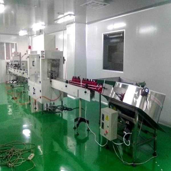 Automatic corrosive liquid filling machine
