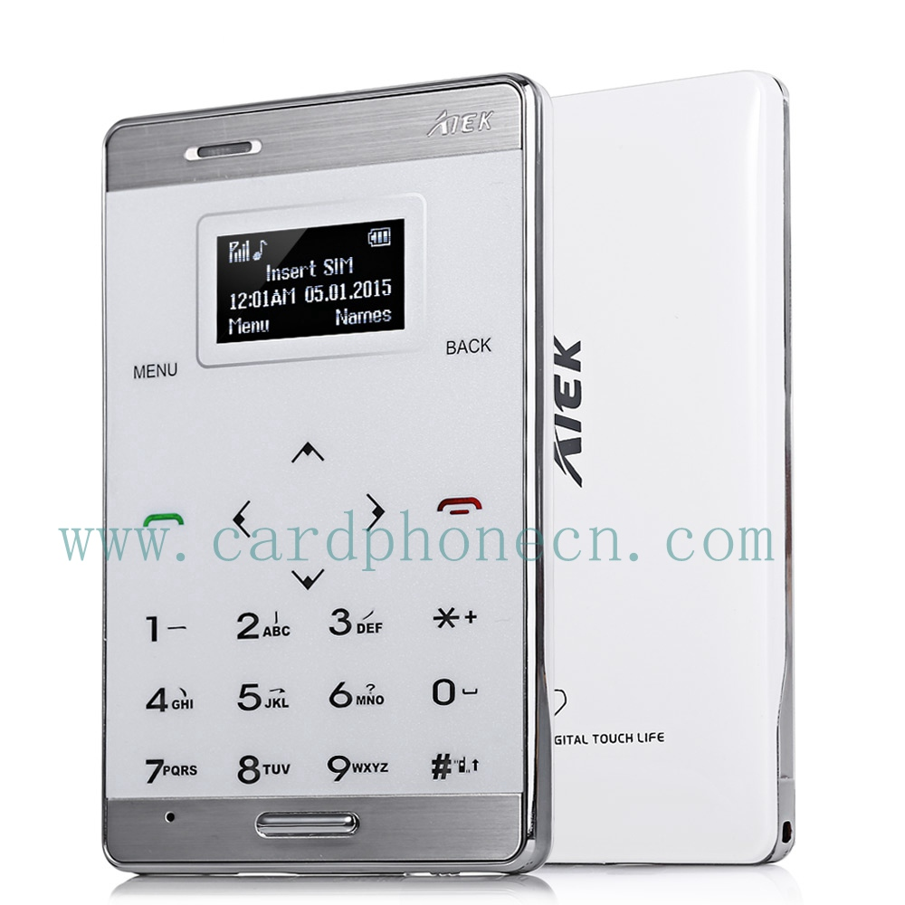 AIEK Card Phone M3 with Touch Keyboard