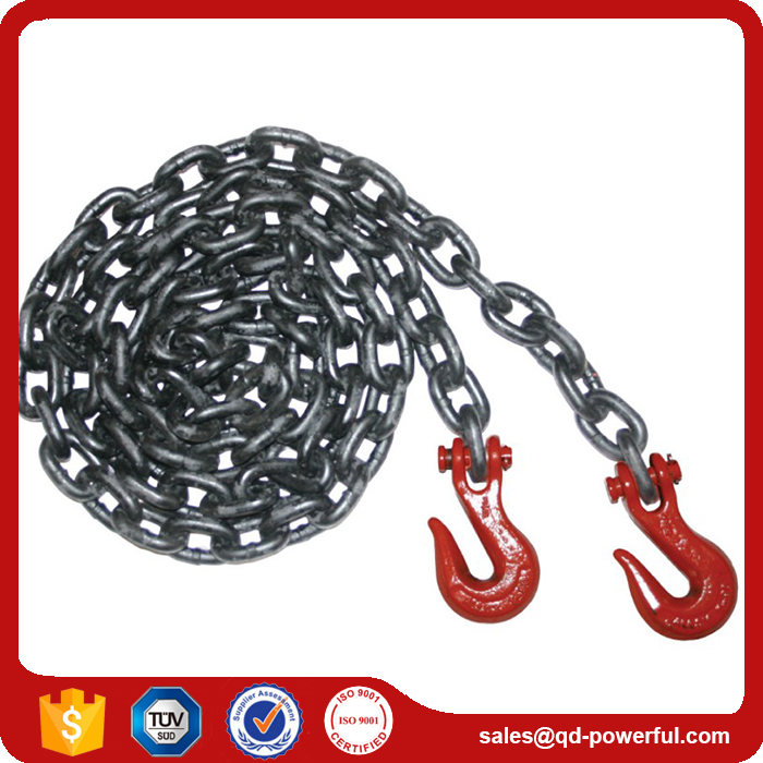 G80 Galvanized Alloy Steel Lifting Link Chain