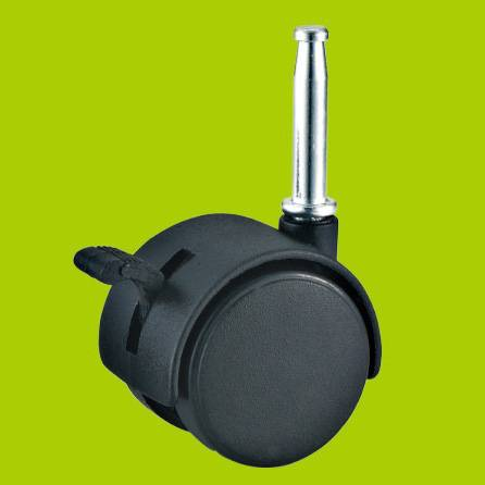 With ISO certificate Long insert stem furniture nylon caster without brake(FC14)