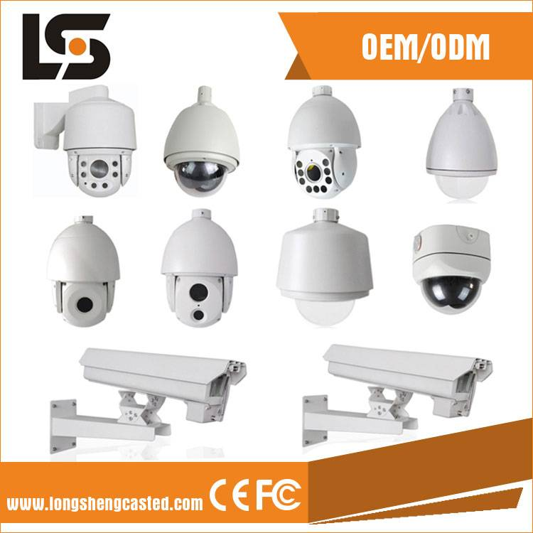 Aluminum Die Casting Parts for CCTV Camera Housing