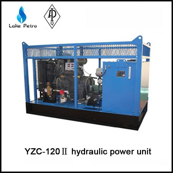 API YZC-120 Hydraulic power unit  used in oilfield