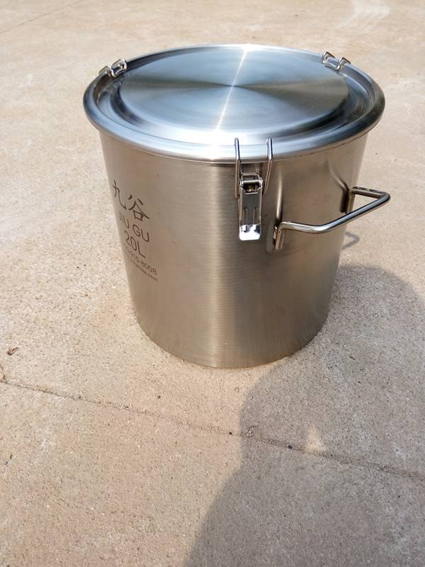 High quality of stainless steel drum 20L