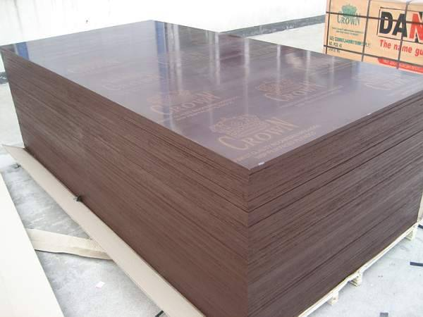 Brown film faced plywood, Crown brand