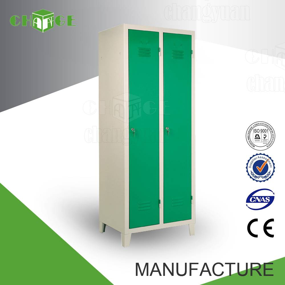 Luoyang factory playfoam packing double door wardrobe design