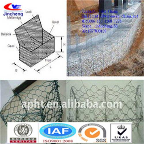 gabion boxes galvanized