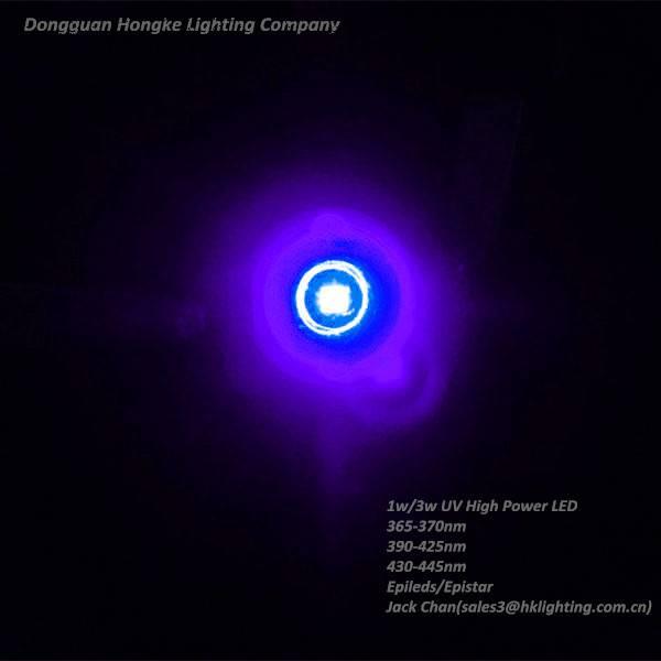 1w UV 390nm 395nm 400nm 405nm 410nm 410nm High Power LED Diode