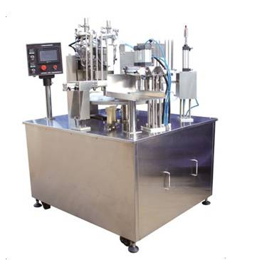 Automatic rotary ice cream filling machine