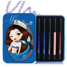 MakeOn Sexy Marine Mermaid Gel Pencil Eyeliner Set (5 Shades)