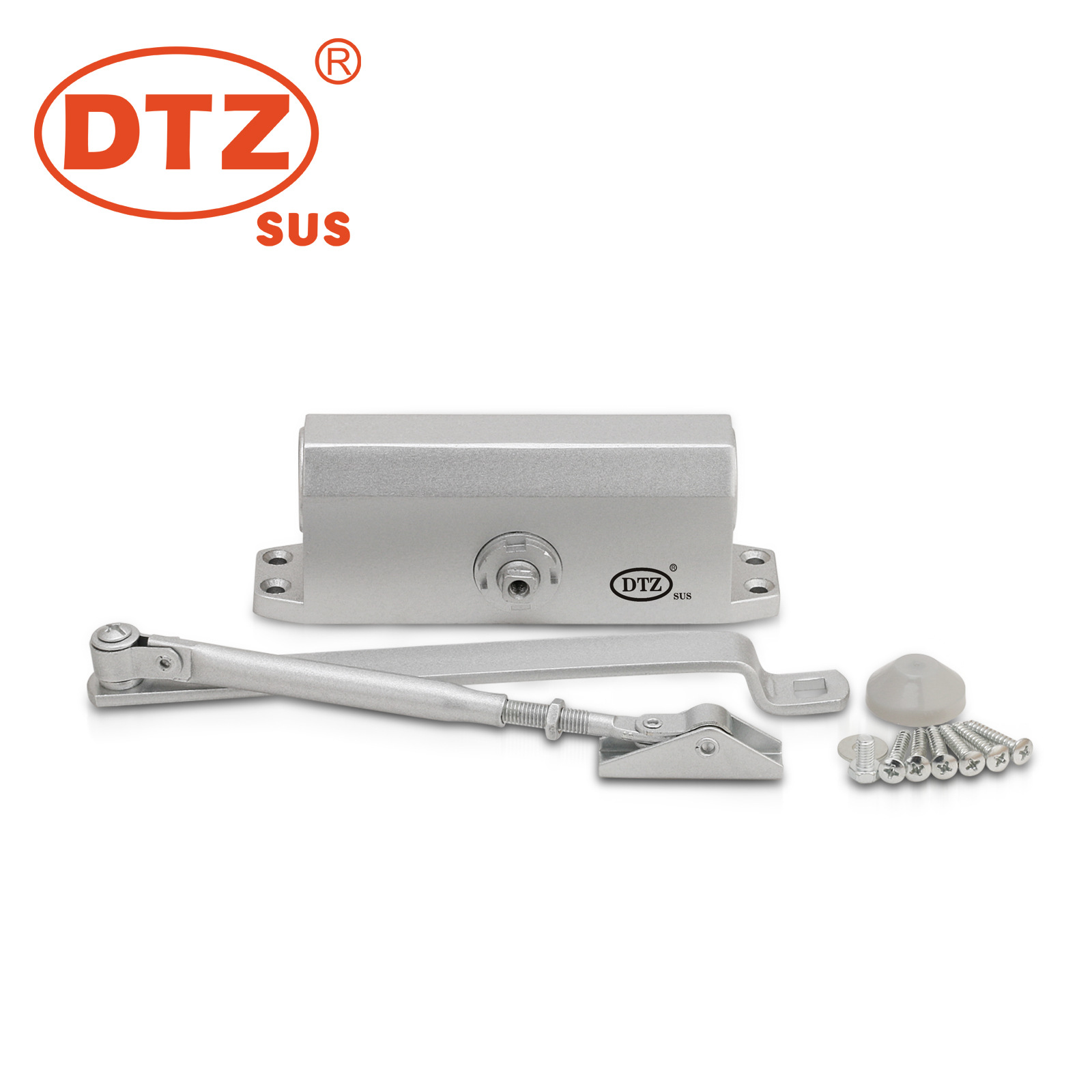 Wholesale Buffer Hydraulic Aluminium Alloy Self-Motion Door Closers DTZ-051