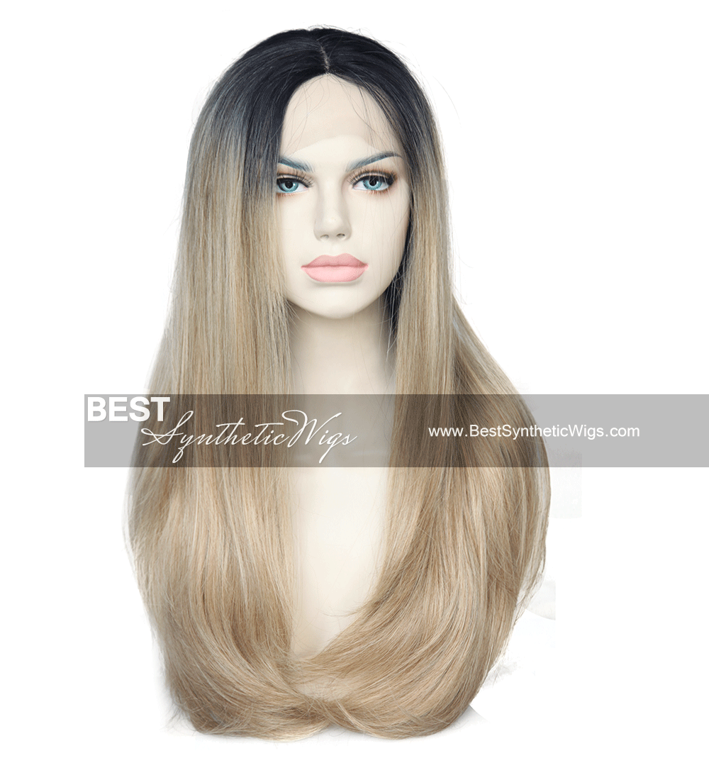 beautiful ombre synthetic hair wigs