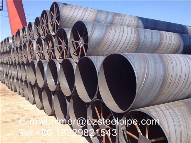 API 5 L SAWH carbon steel pipe