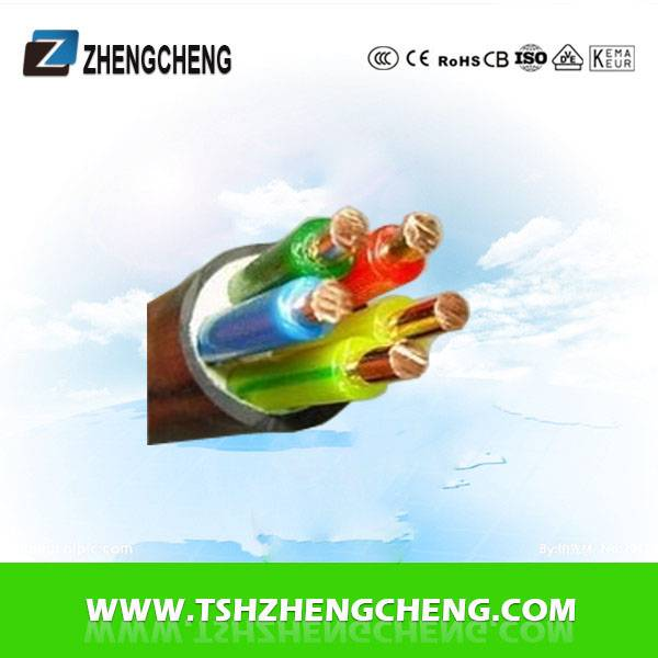 5X1.5 0.6/1KV XLPE PE insulated power cable copper
