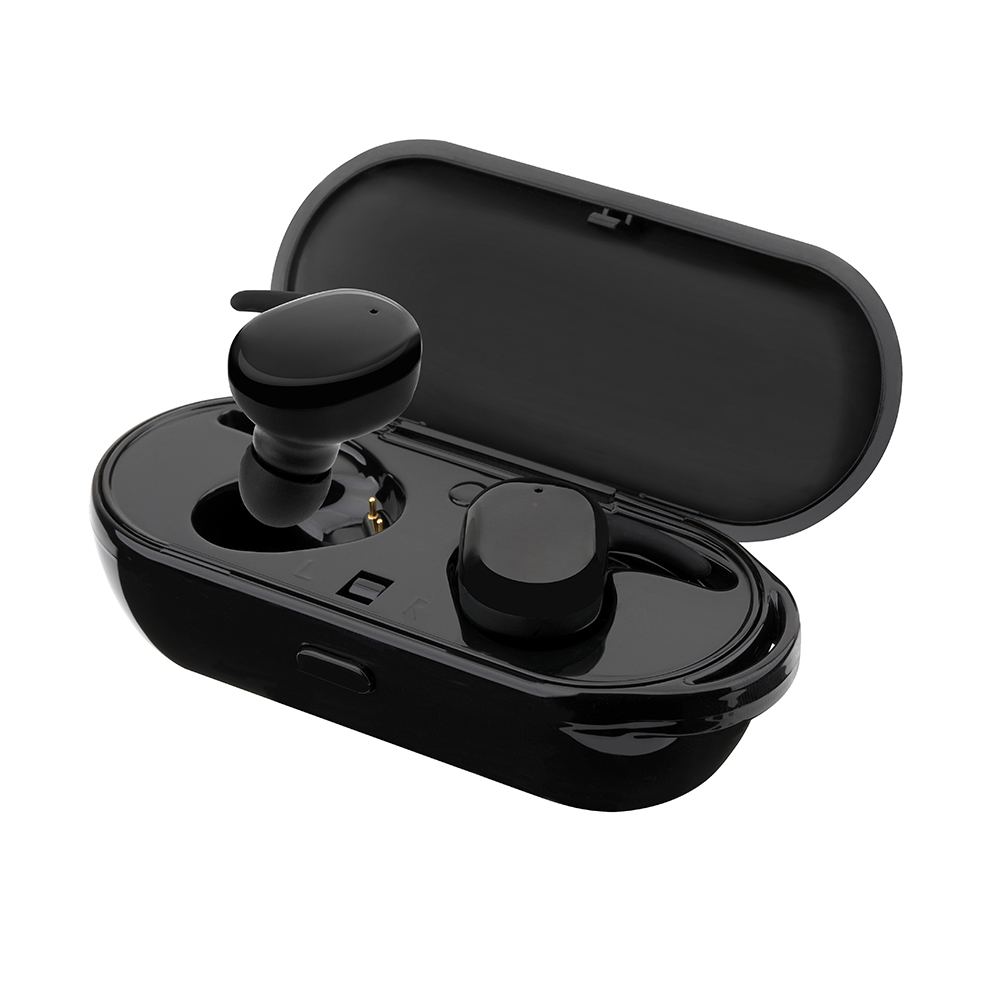 T2C Touch Control Bluetooth 5.0 TWS Wireless Headset IPX5 Water resistant Stereo for Music and Call